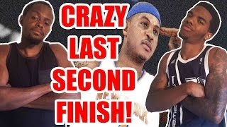 CRAZY LAST SECOND FINISH!! - NBA 2K15 Wager Feat. Juice