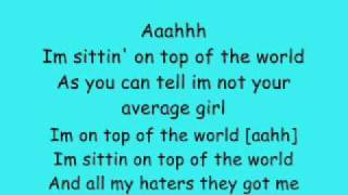 Top Of The World-Auburn (Lyrics)