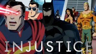 DC Injustice Animated Movie Full HD BTS Sneak Peek Reveals Justice League Civil War & More