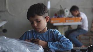 Türkiye'deki Suriyeli çocuk işçiler