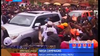 NASA set to raid Uasin Gishu and Nandi counties in effort to drum up support