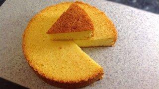 Sponge Cake without Oven    Basic Plain & Soft Sponge cake by (HUMA IN THE KITCHEN)