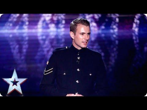 Military magic man Richard Jones we salute you! | Grand Final | Britain's Got Talent 2016 (видео)