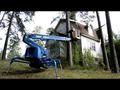 Dino Lift XTC Serisi Örümcek Platformlar