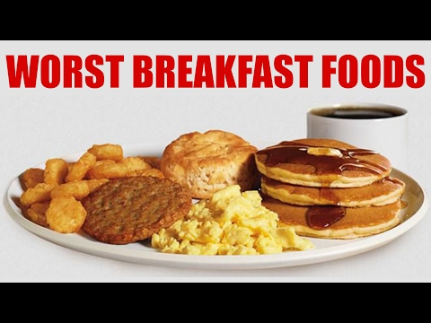 WORST Breakfast Foods & Healthy Alternatives! What to Eat, Weight Loss Tips | Corrina Rachel