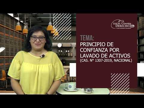 PRINCIPIO DE CONFIANZA POR LAVADO DE ACTIVOS - Luces Cámara Derecho 163