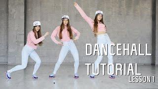 Dancehall Tutorials   Lesson 1 - Bogle, Willie bounce, World Dance