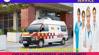 Quick Medical Support King Road Ambulance Service in Jamshedpur and Dhanbad