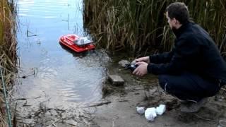 Рыбалка. катера на радиоуправлении