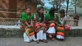 Morung of Kachari tribe, Nagaland