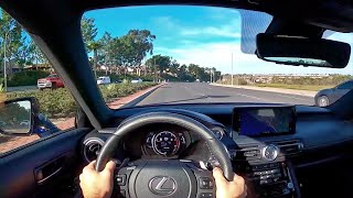 2021 Lexus IS350 F Sport POV Test Drive (3D Audio)(ASMR) by MilesPerHr