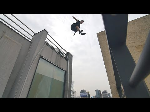 He Almost Slipped off a Skyscraper!