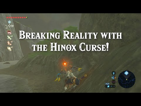 How to Break Reality with the Hinox Curse Glitch in the Legend of Zelda Breath of the Wild!