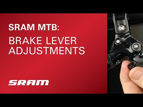 SRAM MTB Brake Lever Adjustments