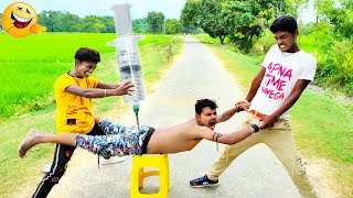 Must Watch Top New Comedy Video 2020_Very Funny Stupid Boys_Try Not To Laugh | Epi-144|#Pooryoutuber