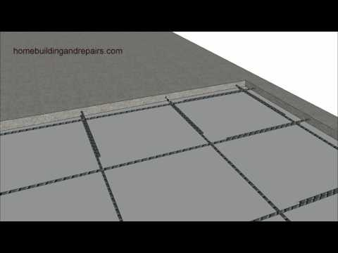 Adding or Filling Concrete over Existing Garage Slab - Home Remodeling