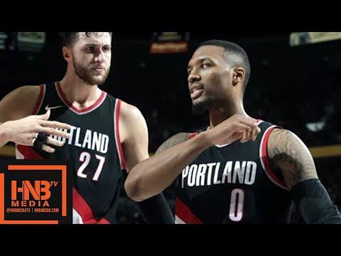 Sacramento Kings vs Portland Trail Blazers Full Game Highlights / Week 5 / 2017 NBA Season