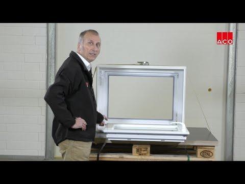 Kellerfenster: So wird ein Dreh-Kippflügel eingebaut