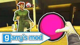 ปาบอลระเบิดหนีตายคะเคียวอิน!?! | โจโจ้จีมอดผจญภัย | JoJo's Garry's Mod Adventure (9)