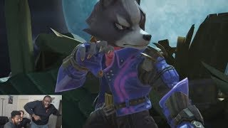 WOLF IS BACK!!! FULL SUPER SMASH BROS. ULTIMATE REACTION