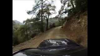 preview picture of video 'Sportur Cypern mellem Troodos - Mount Olympus og Kampos road'