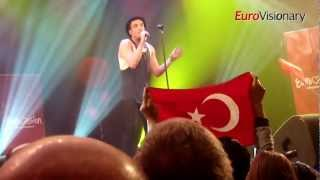 Can Bonomo - Love Me Back - Eurovision Song Contest - Turkey 2012 - From EIC Dancefloor