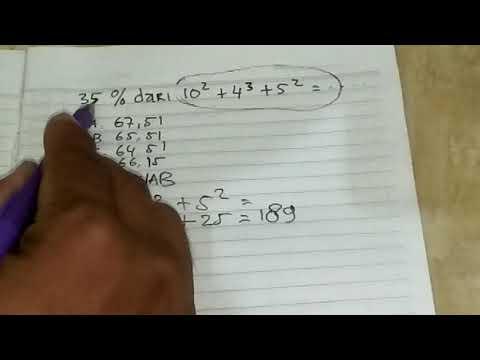Trik Mengerjakan Soal Perhitungan Aritmatika Dasar | Contoh Soal Psikotes Pelindo