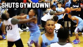 Julian Newman vs TRASH TALKER GETS HEATED! SHUTS GYM DOWN! Ramone Woods vs Julian Newman NEO CAMP!