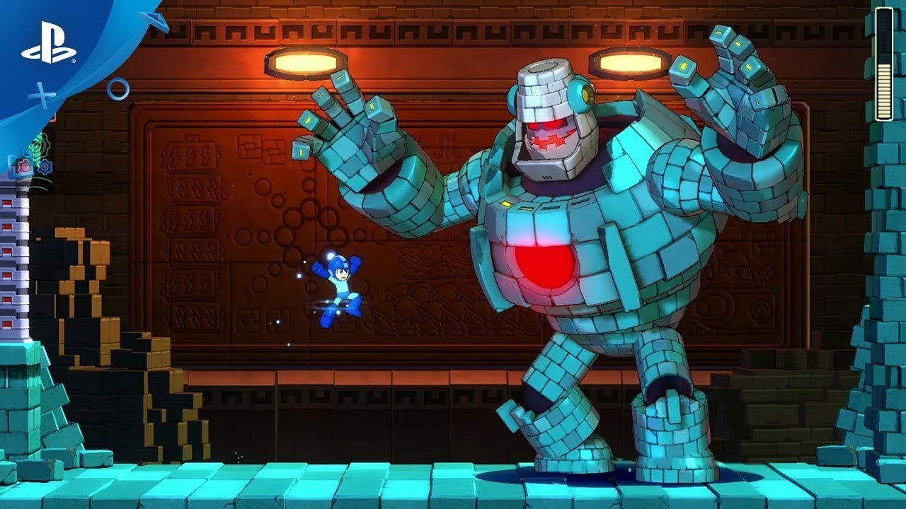 Mega Man 11: Out October 2, First Look at New Double Gear System