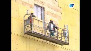 Темпы строительства перинатального центра в Гатчине ускорили