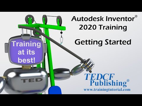 Autodesk Inventor 2020: Training Getting Started - YouTube