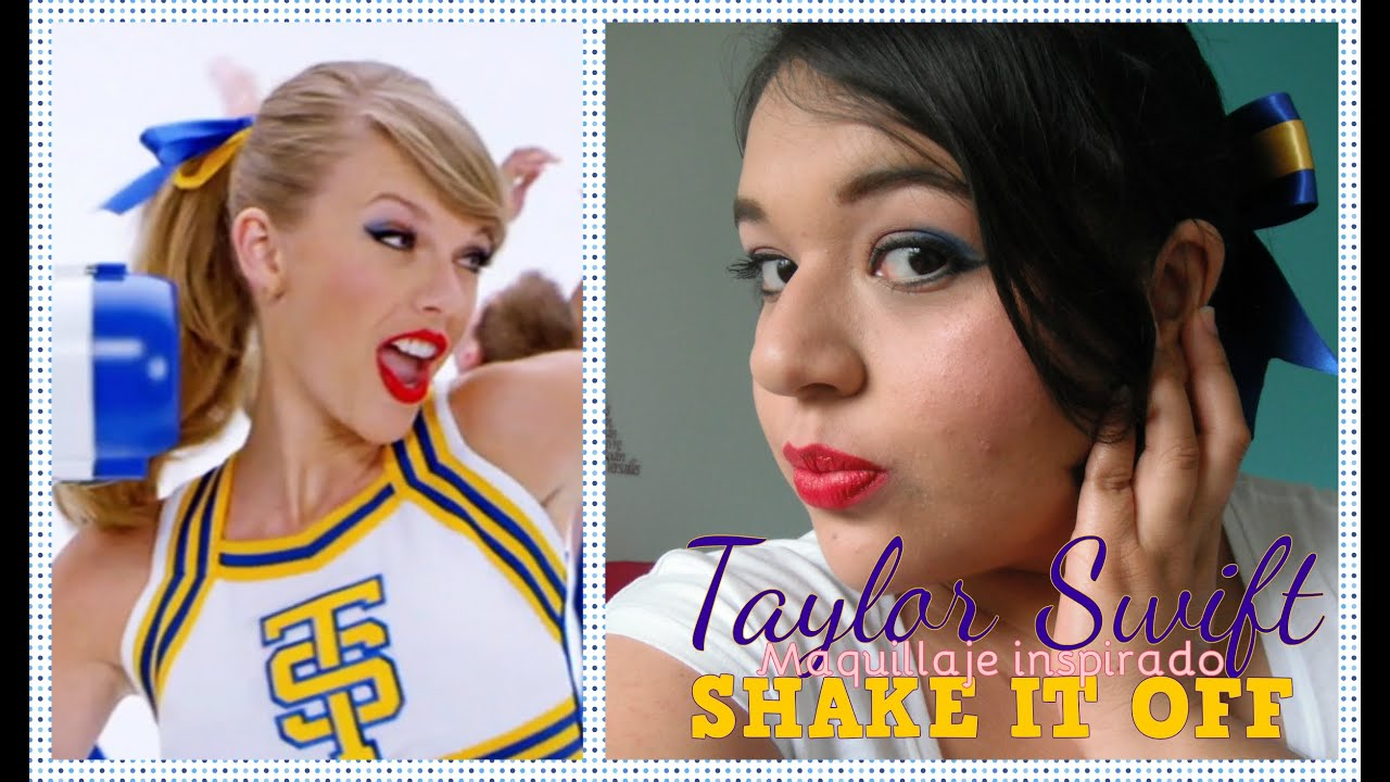 Maquillaje inspirado: Taylor Swift - Shake it Off