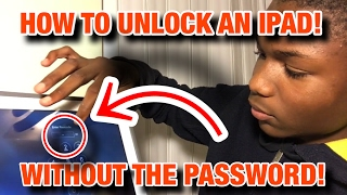 How to unlock an iPad Without the Passcode or ITunes!!!! WORKING! (2019)