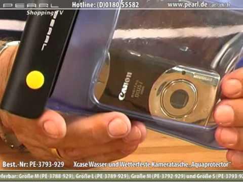 """Xcase Unterwasser-Kameratasche """"Aquaprotector S"""" 110 x 140 mm"""