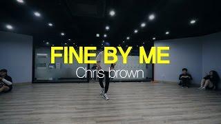 JONG YOUNG | CHOREOGRAPHY CLASS | CHRIS BROWN - FINE BY ME | E DANCE