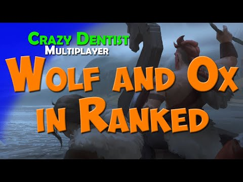 Wolf and Ox in Ranked | Wolf clan in 2v2 | Northgard