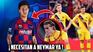 4 RAZONES Porque El FC BARCELONA DEBE FICHAR A NEYMAR Para Esta TEMPORADA