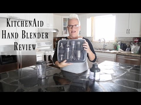 KitchenAid 5 Speed Hand Blender Review