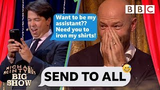 Send To All with Alan Shearer   Michael McIntyre's Big Show - BBC