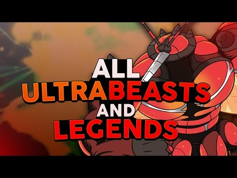 All Ultra Beasts and Legendary Pokémon in Pokémon Sun and Moon! - Woopsire
