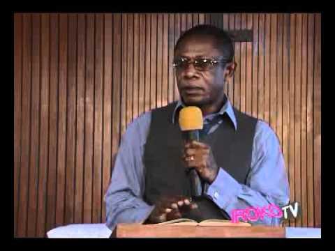 Osuofia Preaches Against Adultery