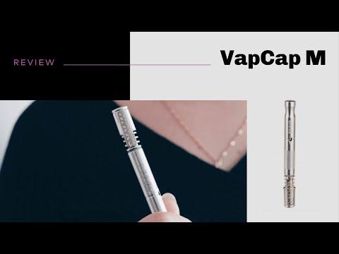 VapCap M Vaporizer Review – short&sweet
