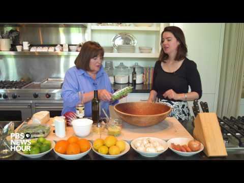 Ina Garten shows us how to make the perfect vinaigrette