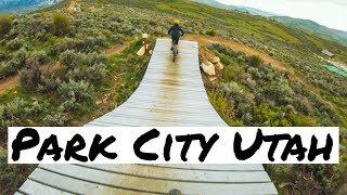 Downhill Jump Trails in Utah (Park City)
