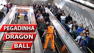 PEGADINHA DRAGON BALL - SUPER SAIYAN PRANK BRAZIL (FT. OUSADIA)