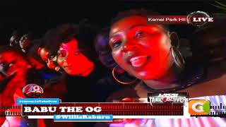 Babu Gee taking it live on | 10 over 10