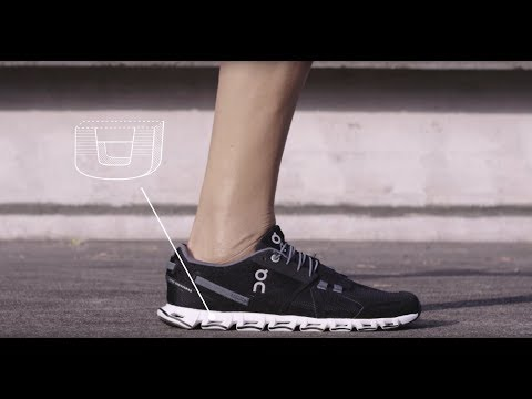 World's lightest cushioned running shoe fights gravity - Meet the On Cloud.