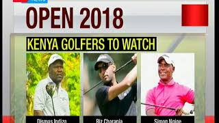 156 golfers to take part in Kenya open 2018