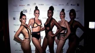 What Women Want Swimweek Sunday Tahari At Club O1
