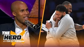 Richard Jefferson believes AD-LeBron would fit together, calls Pelicans 'reckless'  | NBA | THE HERD